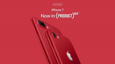 RED Apple iPhone 7 and iPhone 7 Plus