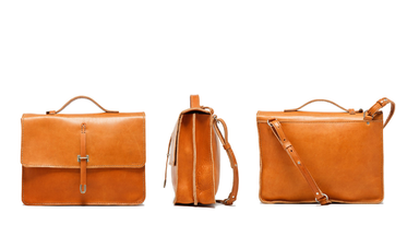 Billykirk Leather Tan Schoolboy Satchel