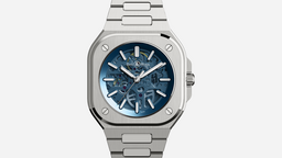 Bell & Ross BR 05 Skeleton Blue Wrist Watch