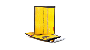 Recycled Fire Hose iPad Sleeve by Hosewear