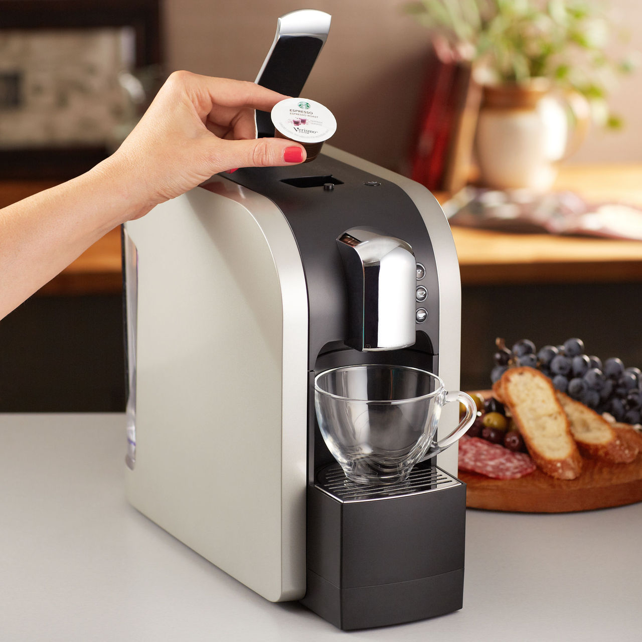 Desire This | Starbucks Verismo Coffee System