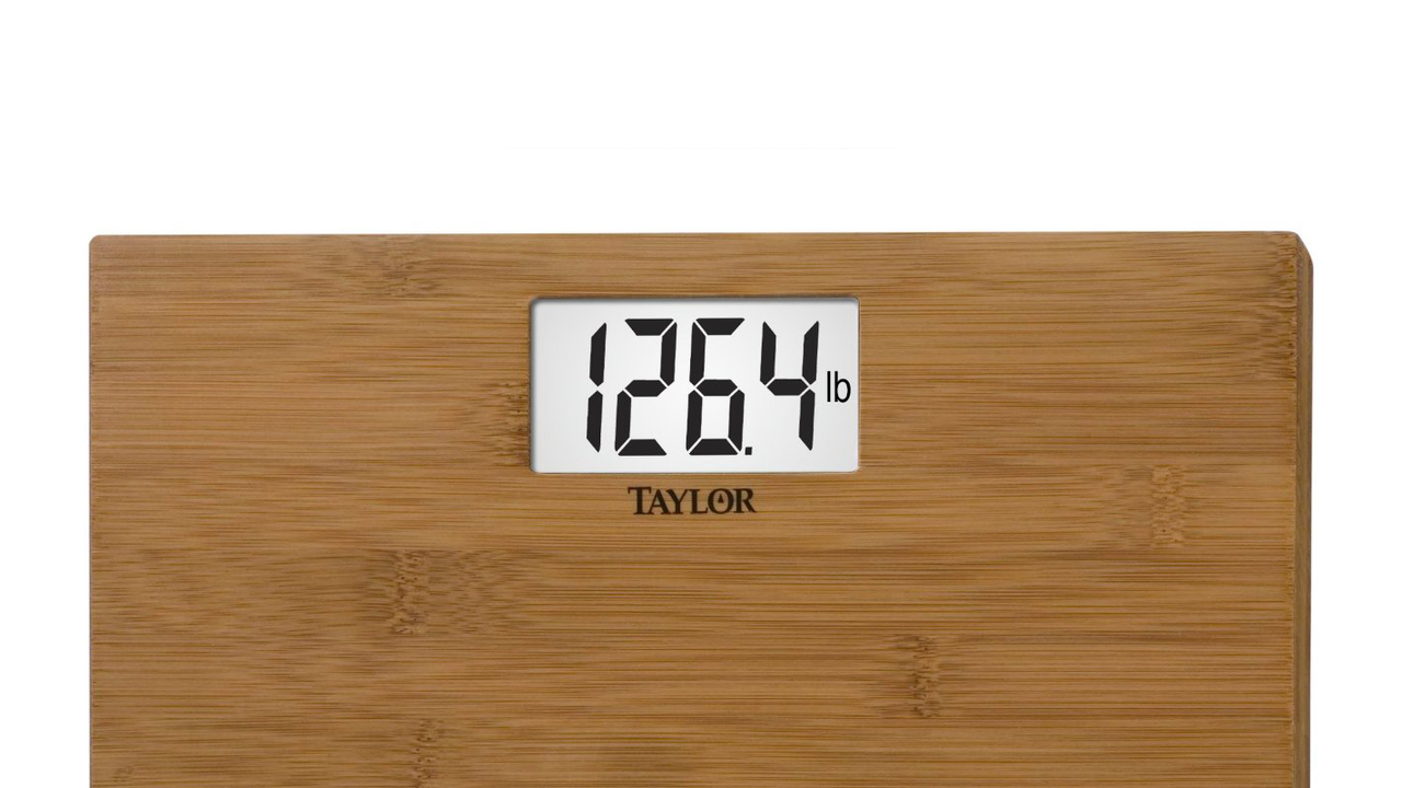 Natural Bamboo Digital Scale by Taylor