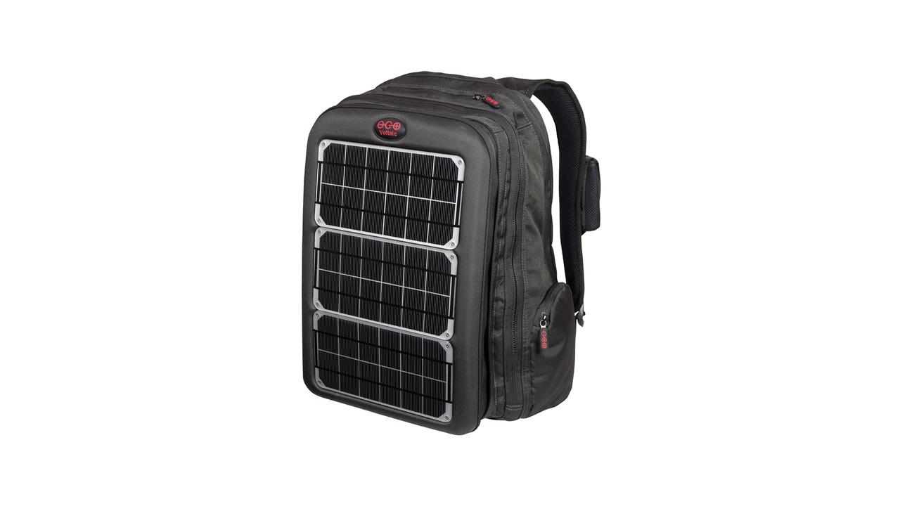 High-Powered Solar Backpack by Voltaic