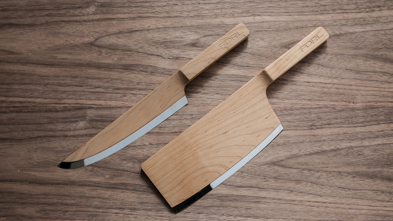 Maple Wooden Knife Set by Federal