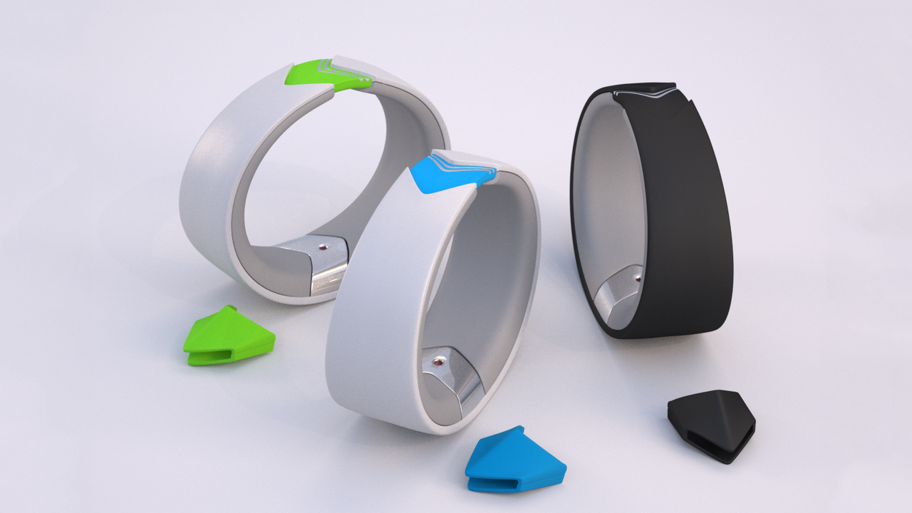 Amiigo Real-Time Tracking Fitness Bracelet