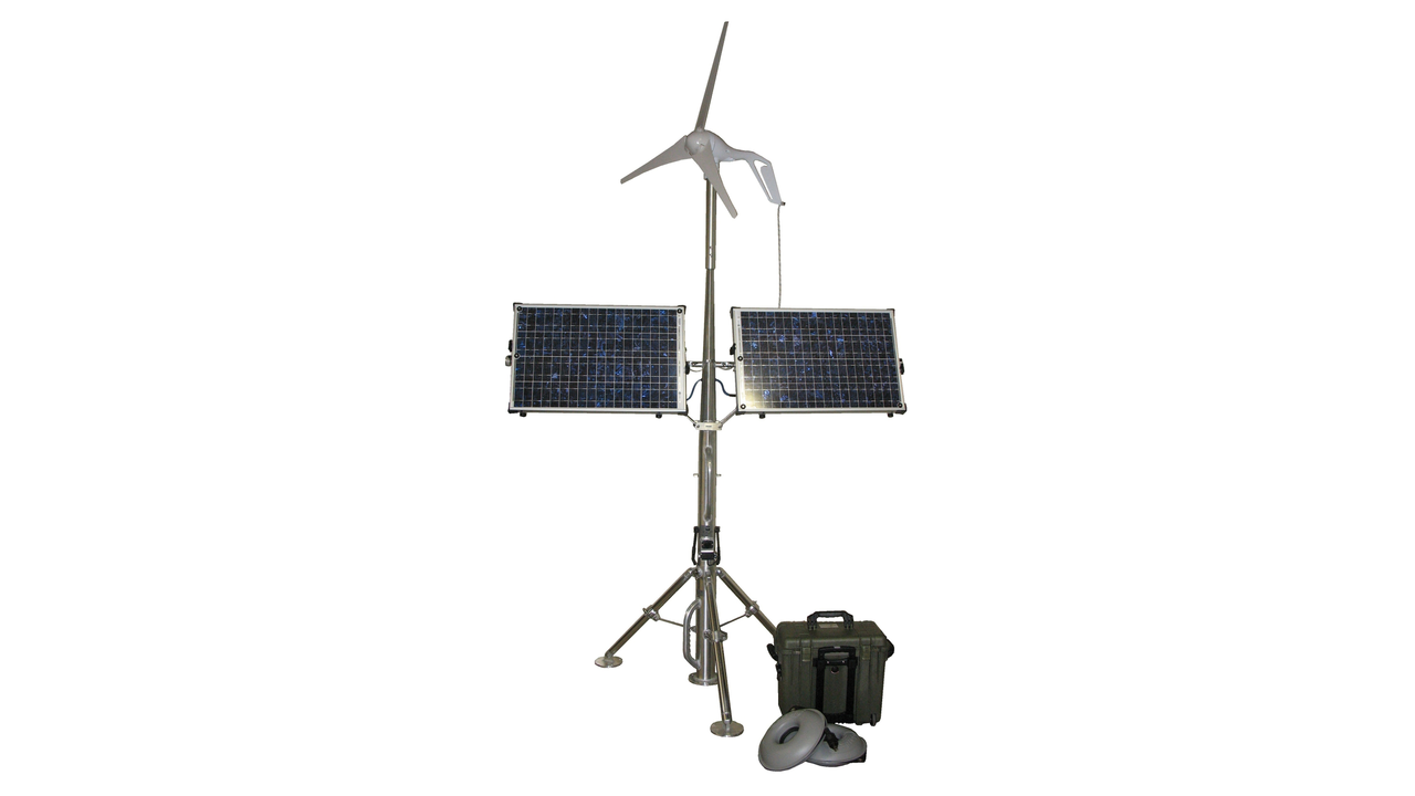 Solar Stik 100 Breeze and Power Pak System