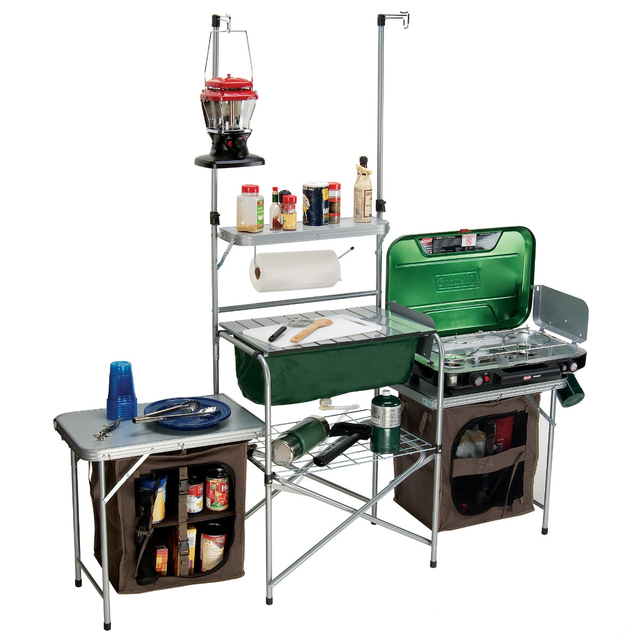 Desire This Gander Mountain Deluxe Camp Kitchen