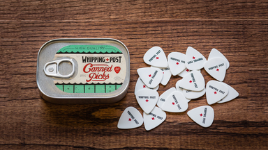 Canned Guitar Picks by the Whipping + Post