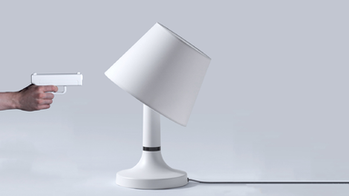BANG! Remote Lamp by bitplay