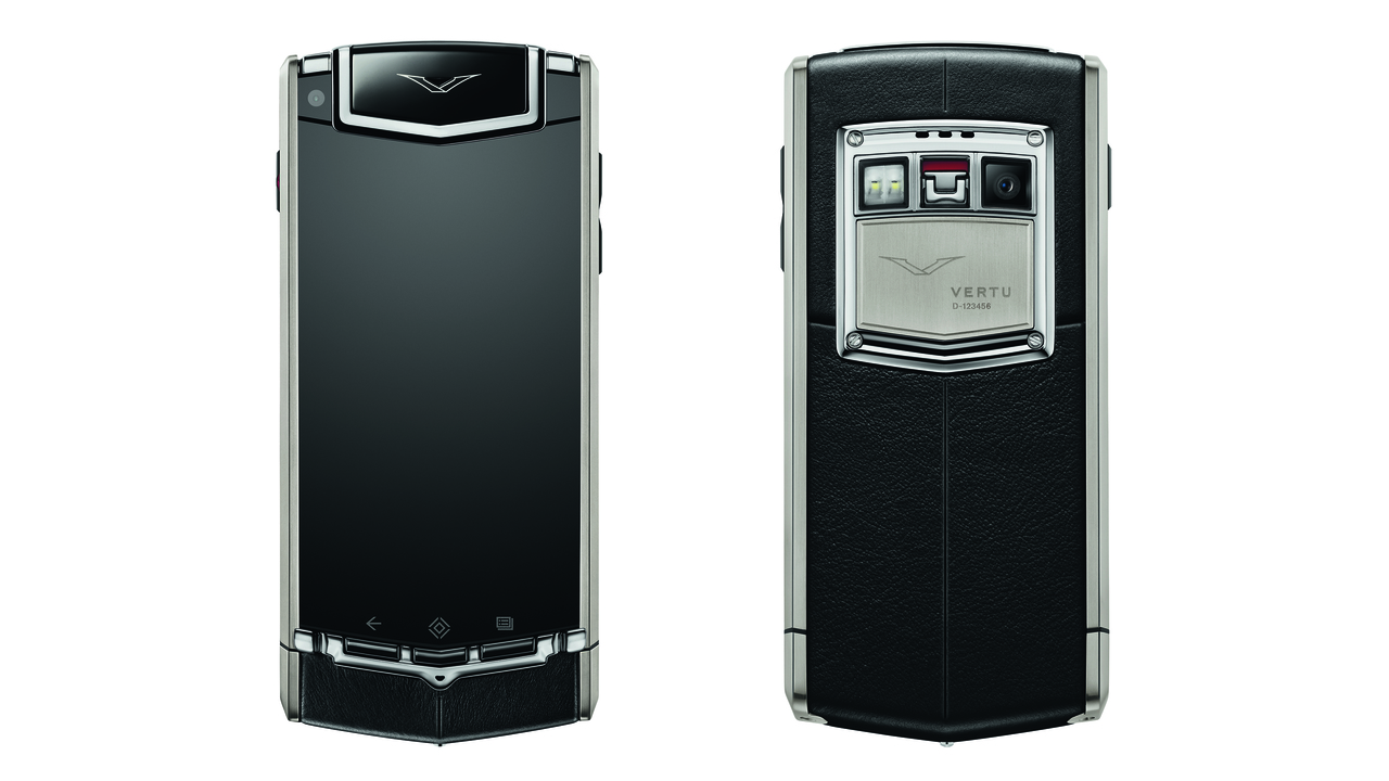 Vertu Ti Luxury Mobile Phone With Sapphire Crystal Screen