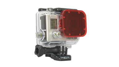GoPro Hero3 Red Dive Filter-Snap On Accessory