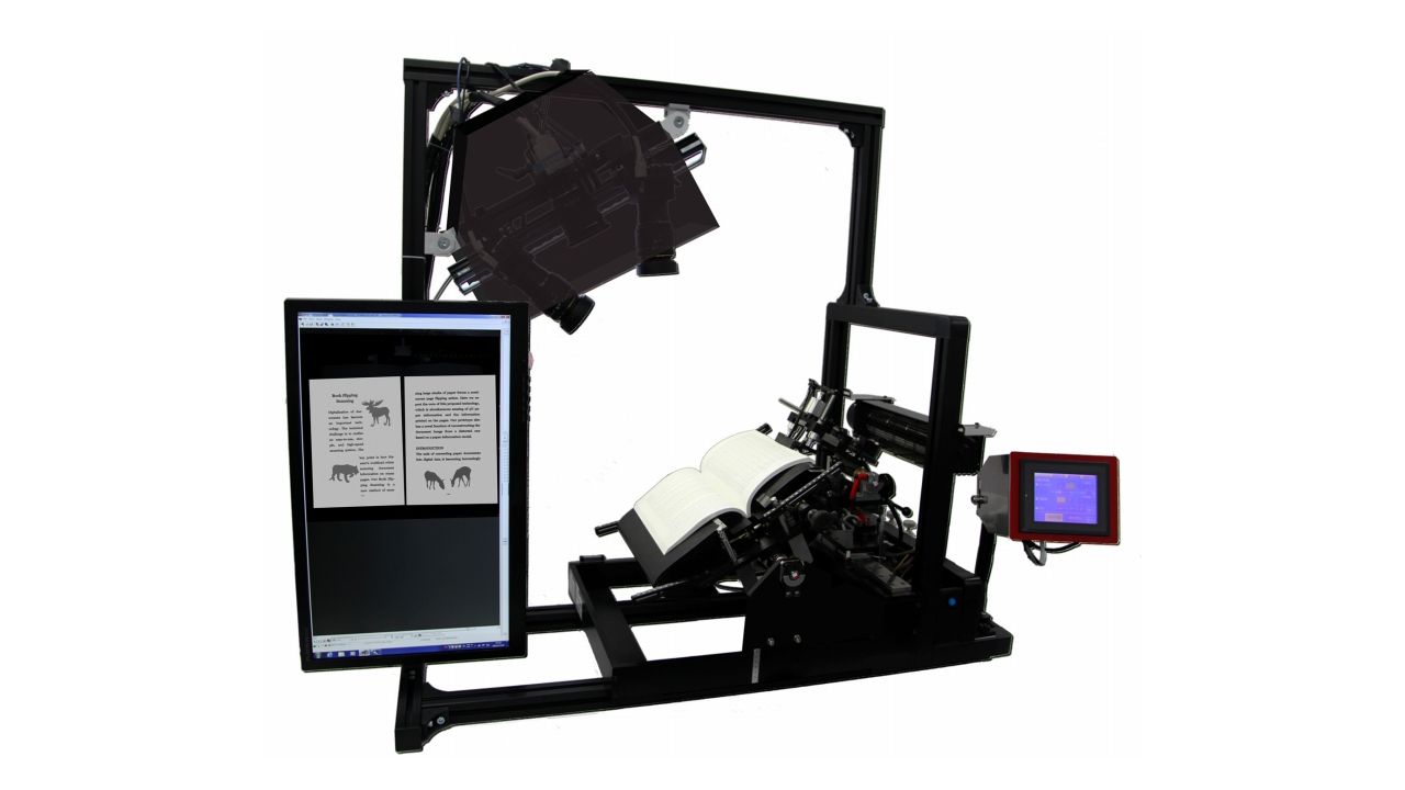 BFS-Auto: High Speed & High Definition Book Scanner