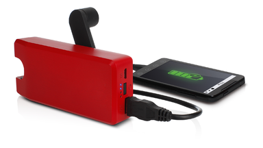BoostTurbine 2000 Rechargeable USB Battery Pack by Eton
