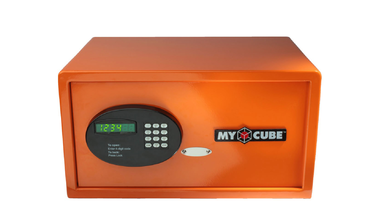 Charge and Secure your Electronics with My Cube Safe