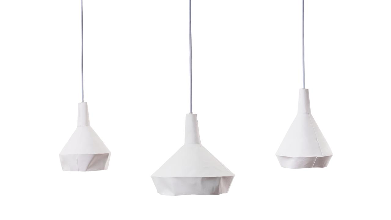 Desire This Dua Like Paper Concrete Pendant Lamps