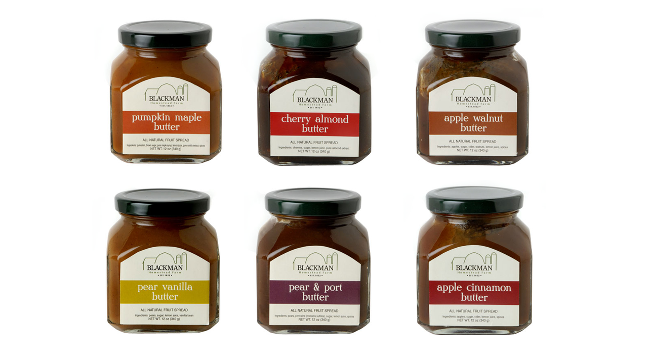 Blackman Homestead Farm Fruit Butters