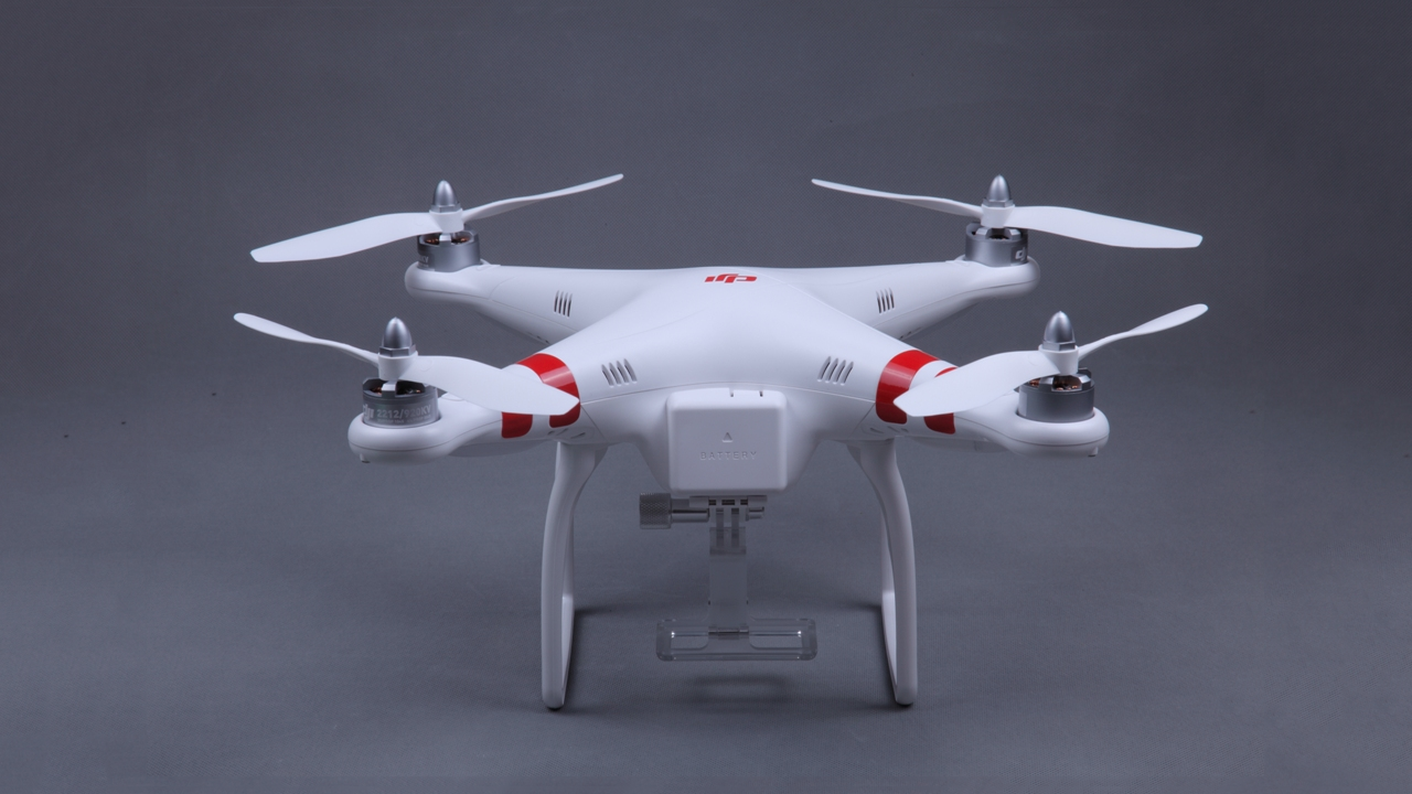Phantom Aerial UAV Drone Quadcopter by DJI