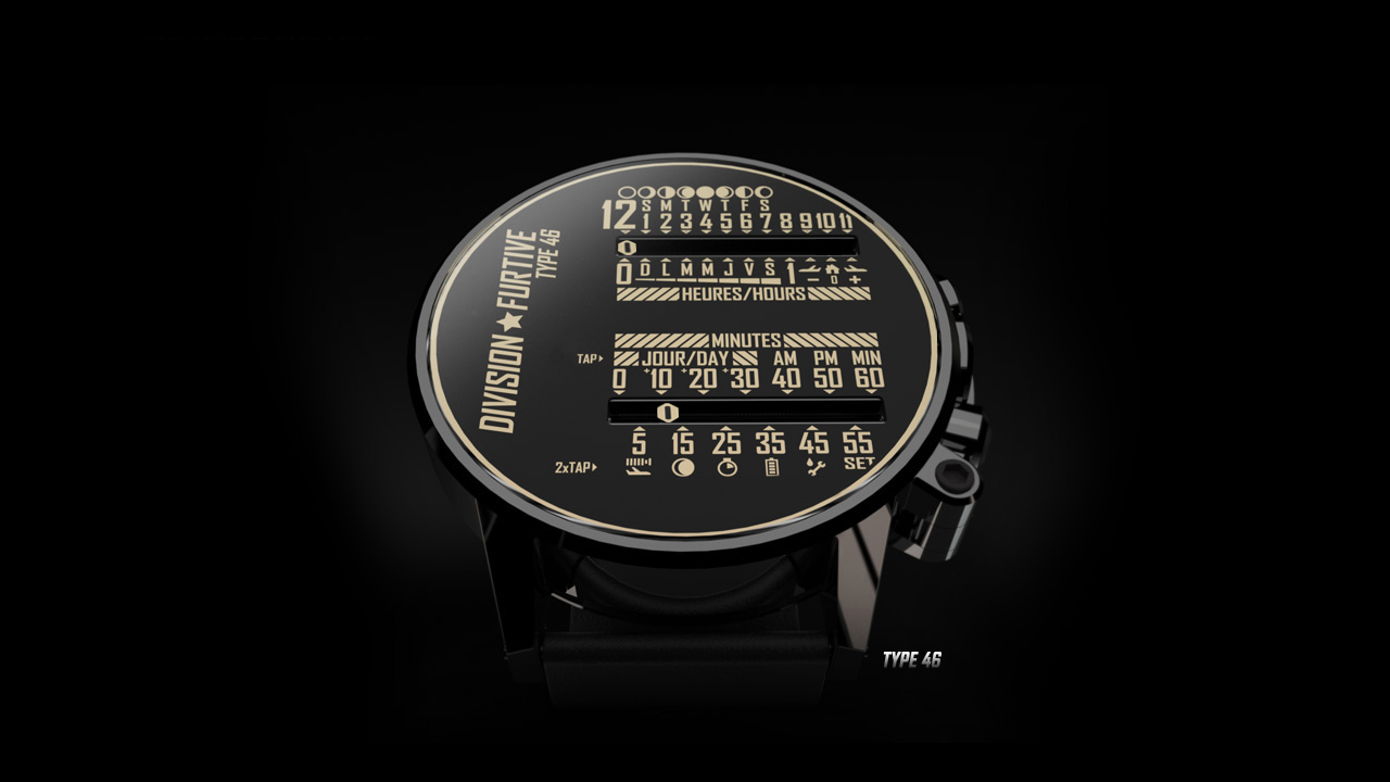 Type 46 Watch by Division Furtive