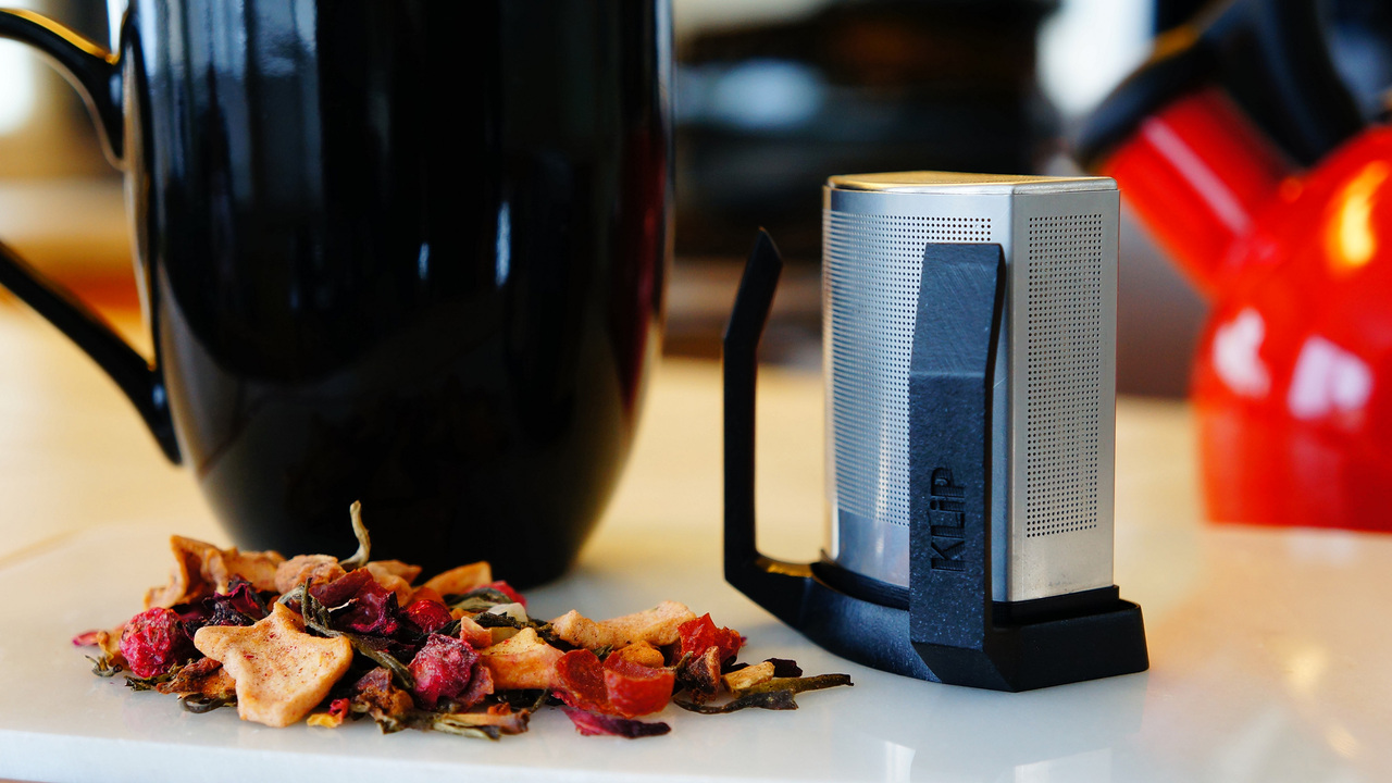The KLiP All-in-One Tea Brewer