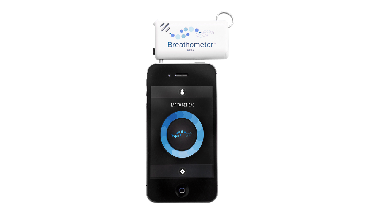 Breathometer: A Personal Breathalyzer for Smartphones