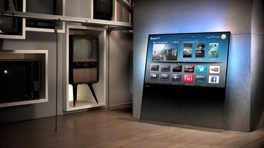 Philips DesignLine TV Made From Single Pane of Glass