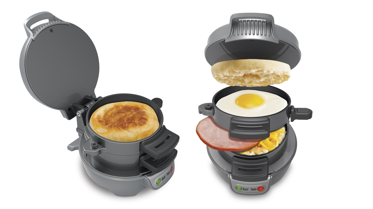 Desire This Hamilton Beach Breakfast Sandwich Maker
