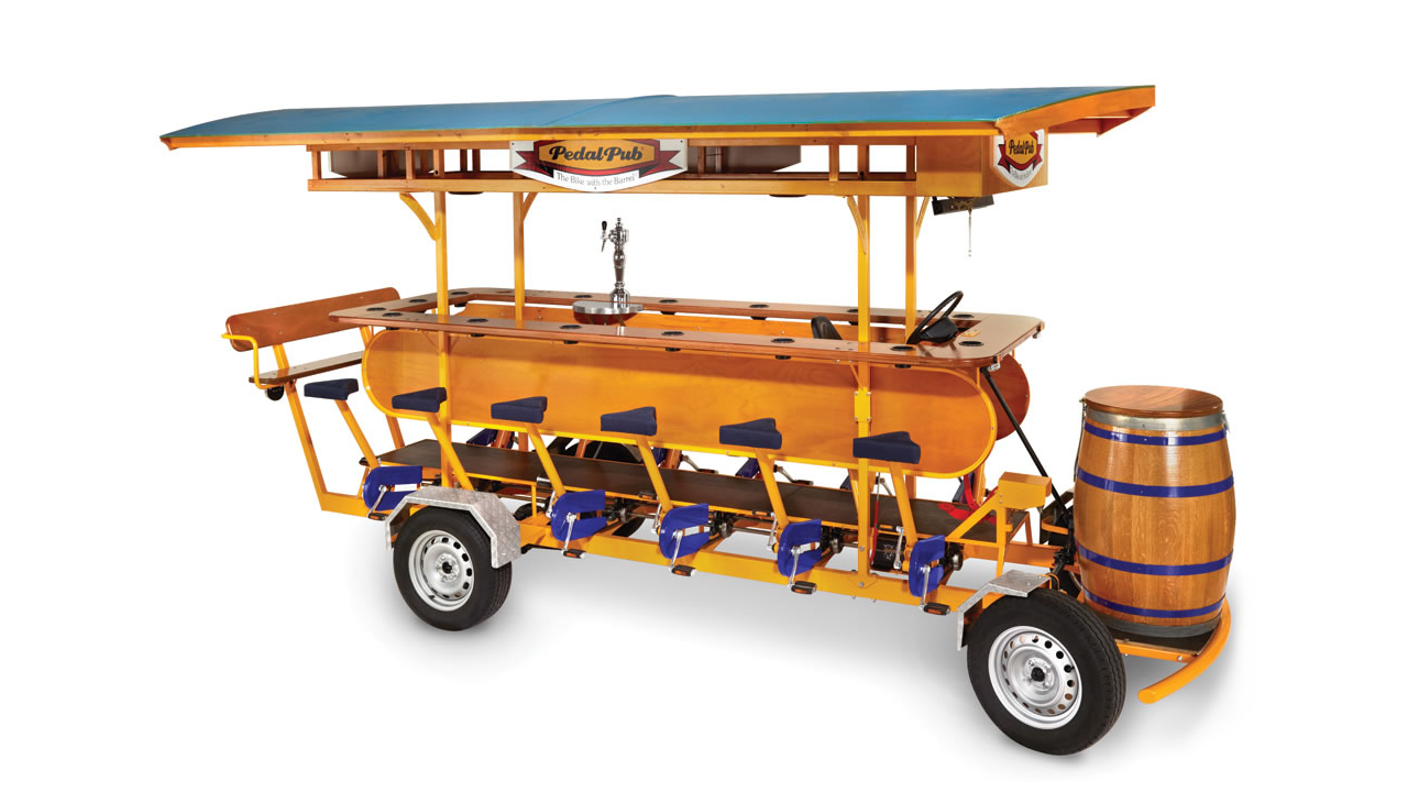 The Pedal Pub Bike