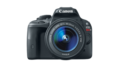 The Canon EOS Rebel SL1: World's Smallest and Lightest DSLR Camera