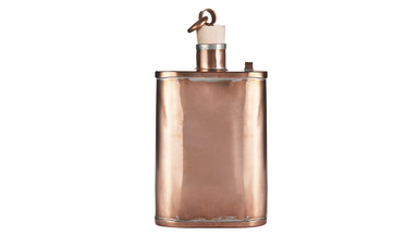 Handmade Copper Flask by Jacob Bromwell