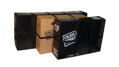Travel Bike Boxes by Crate Works