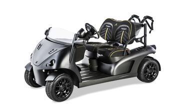The Limited Edition Garia Mansory Currus Golf Cart