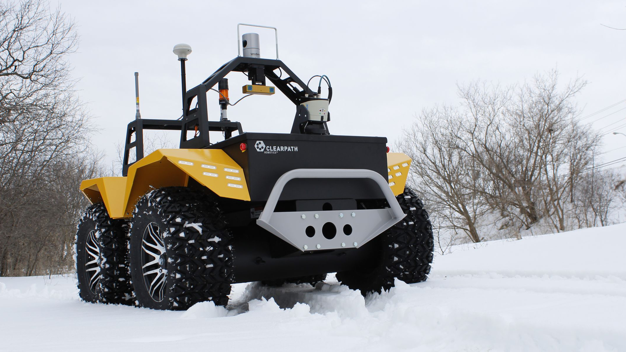 Desire This | Grizzly Robot Utility Vehicle by Clearpath