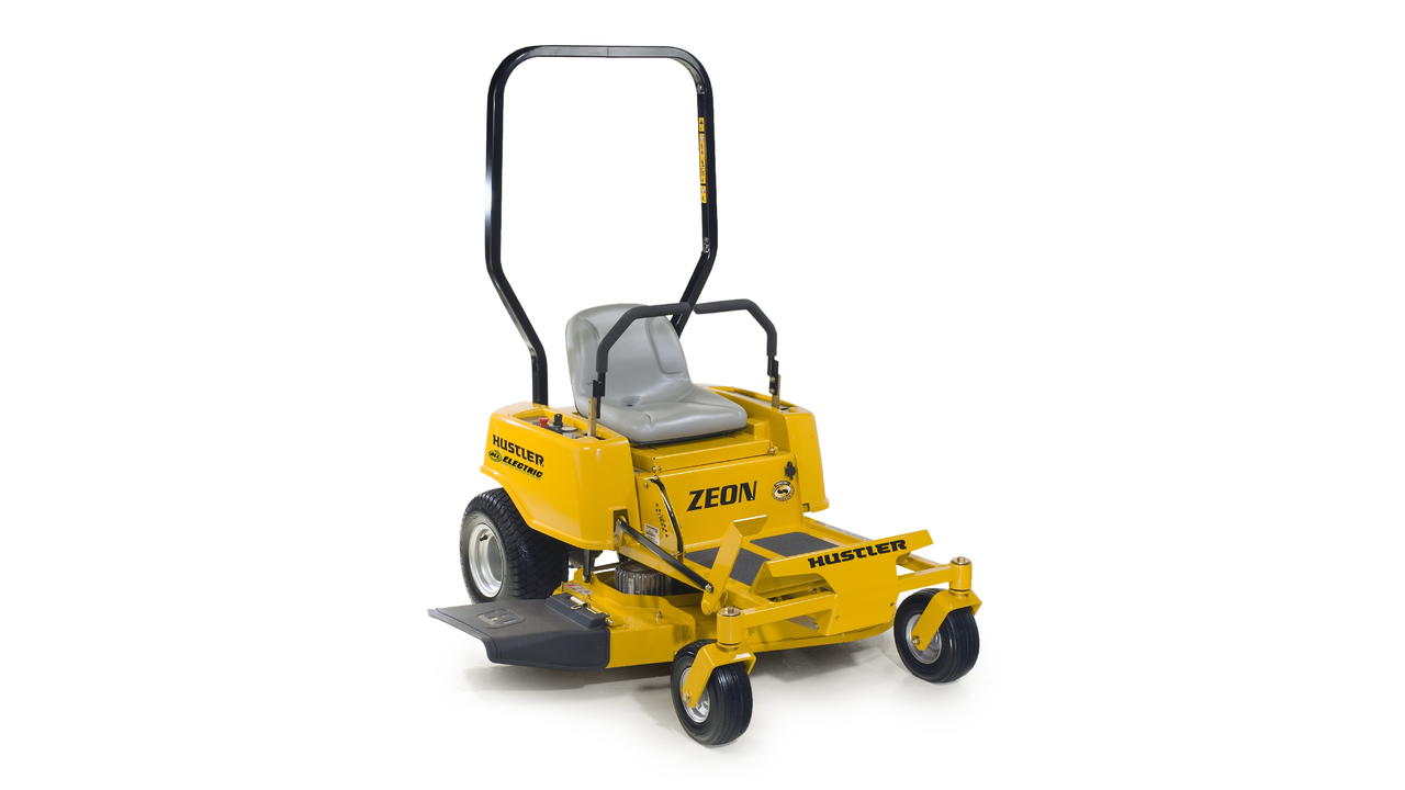 Hustler zeon electric mower