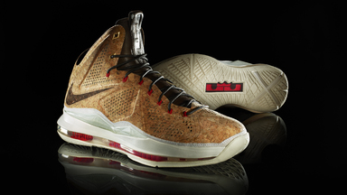 Nike LeBron X Cork Shoes