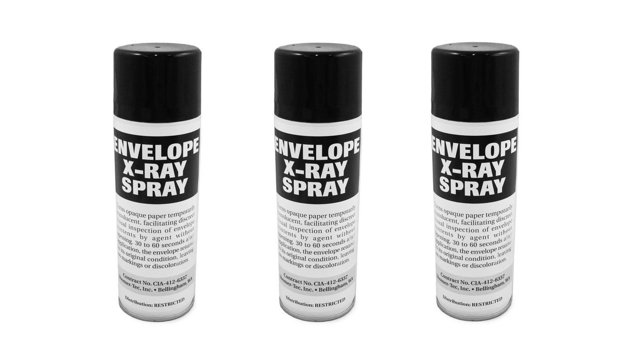 Envelope X-Ray Spray