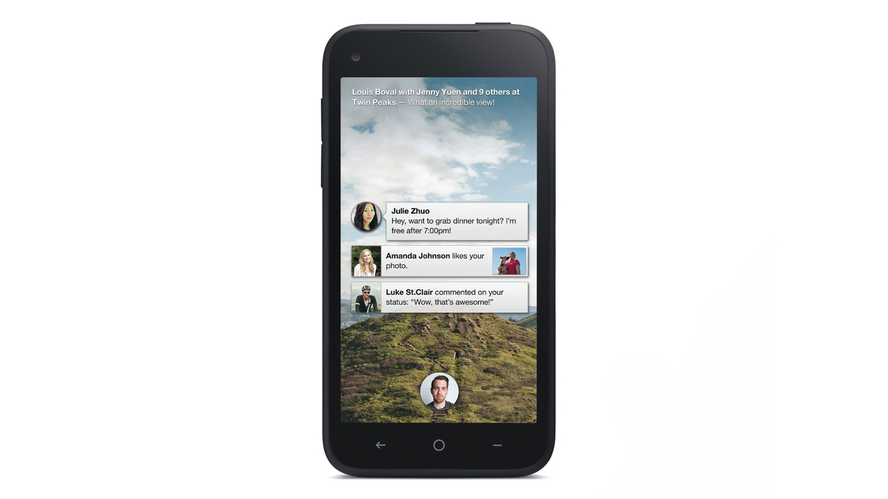 HTC First Smartphone With Facebook Home