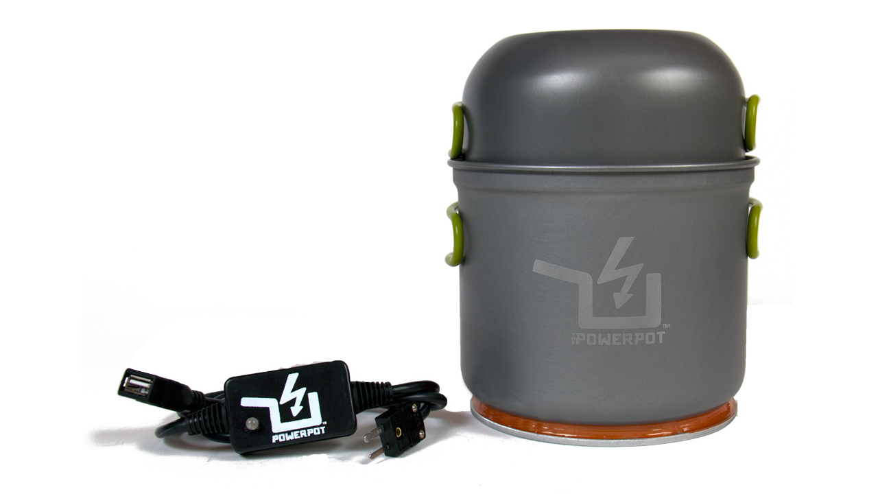 The PowerPot Lightweight Thermoelectric Generator