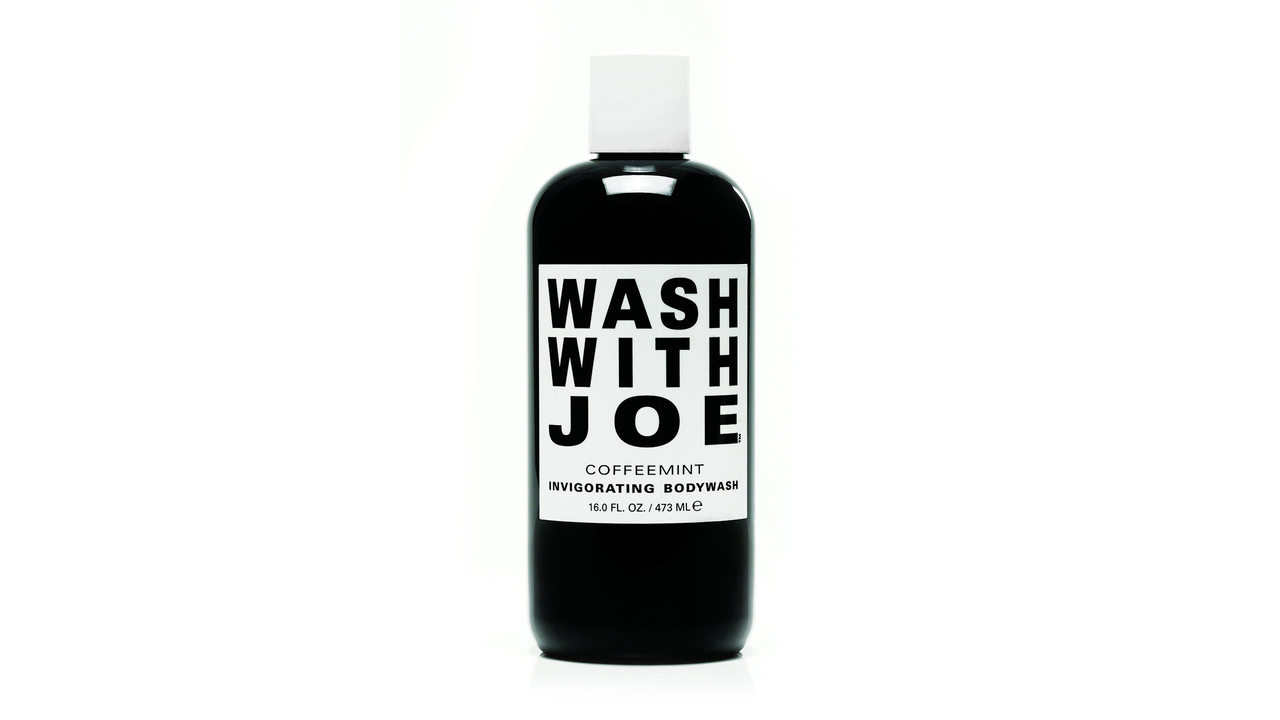 WASH WITH JOE Puts Coffee in Your Body Wash