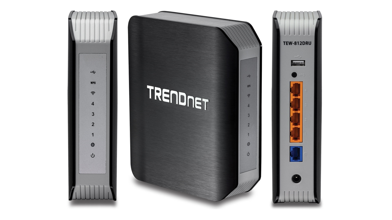 Dual Band Wireless Router TEW-812DRU