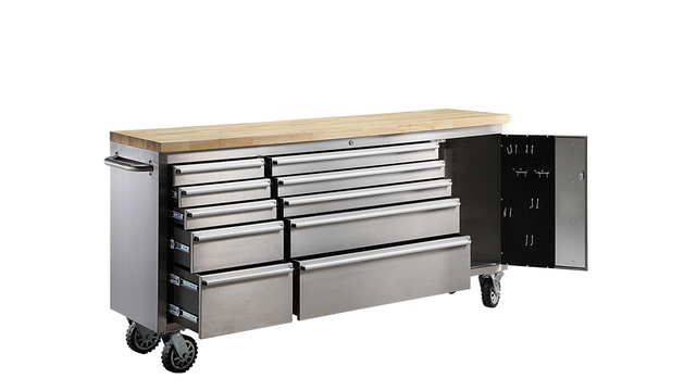 Whalen Stainless Steel Chest