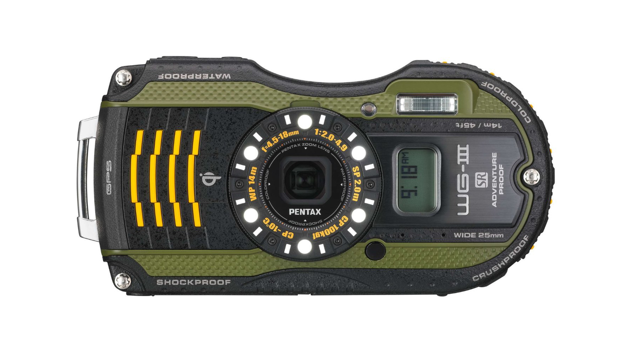 Pentax WG-3 Waterproof Digital Camera